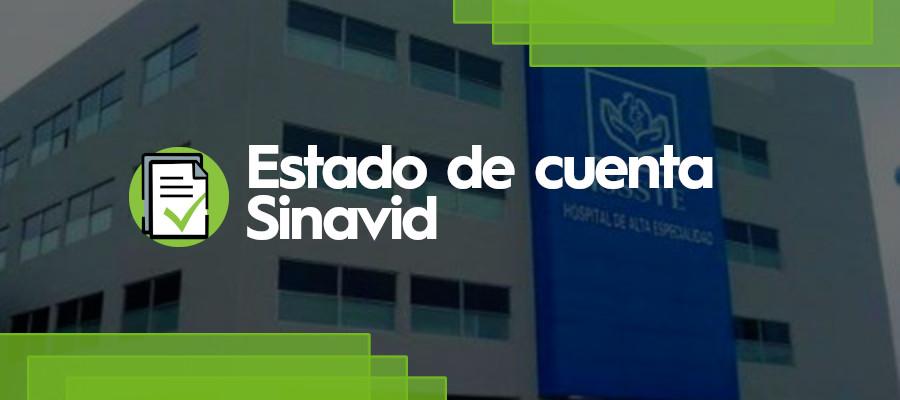 Estado de Cuenta Sinavid